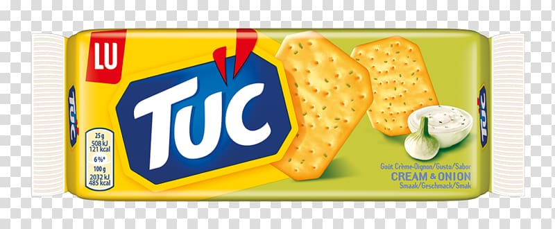 Sour cream TUC Cracker Biscuit, biscuit transparent.