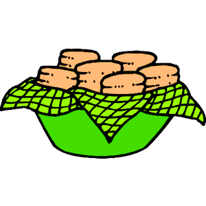 Biscuits Clipart.