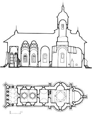 Biserici cu pictura murala exterioara din nordul Moldovei.