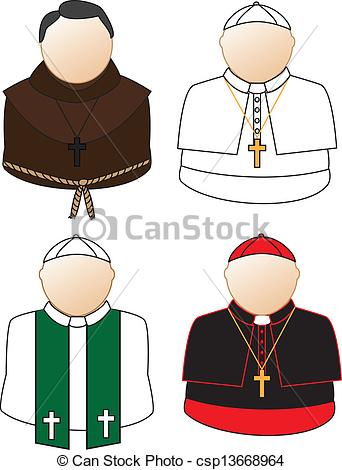 Catholic bishop clipart.