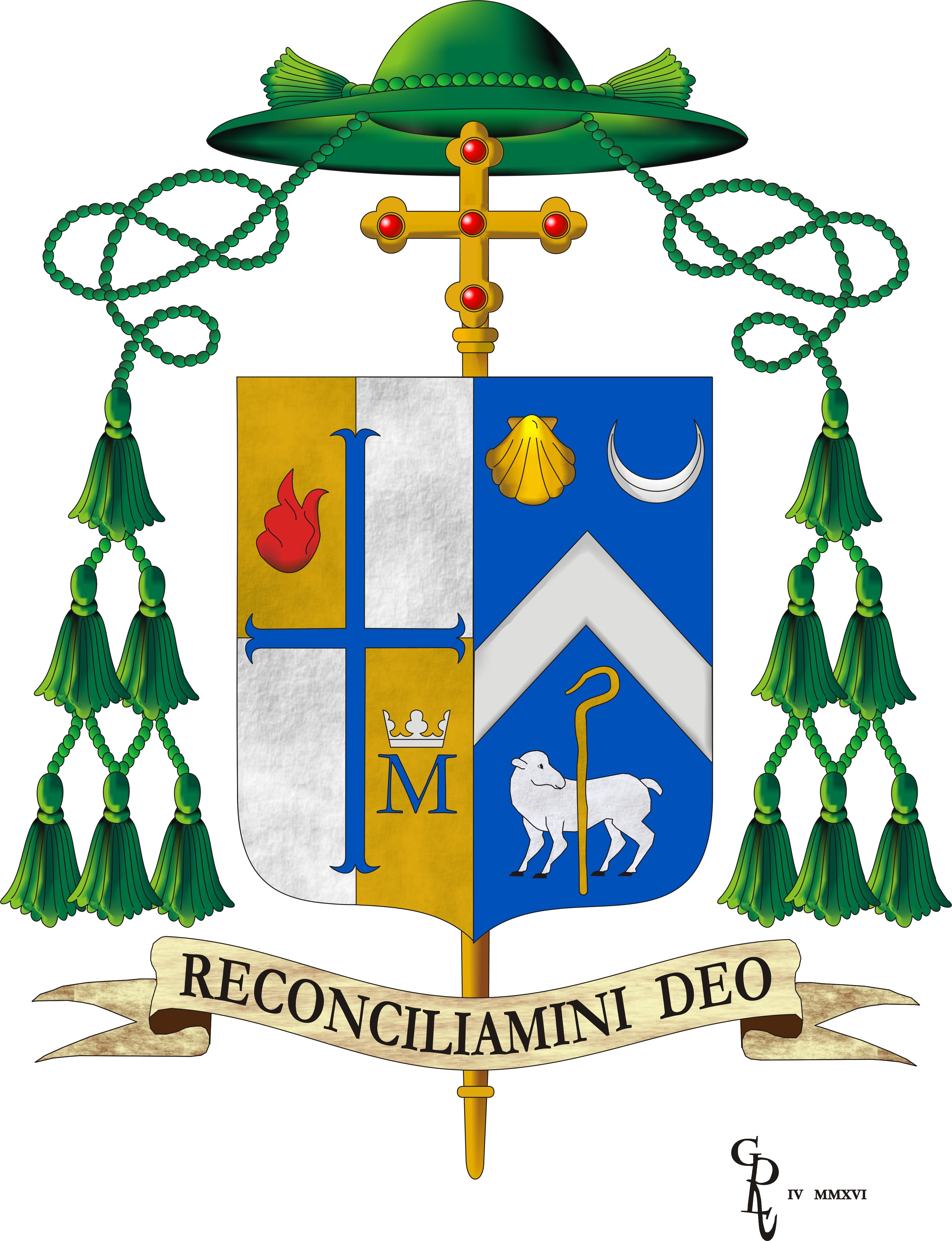 Bishop's Coat of Arms » Diocese of Metuchen.