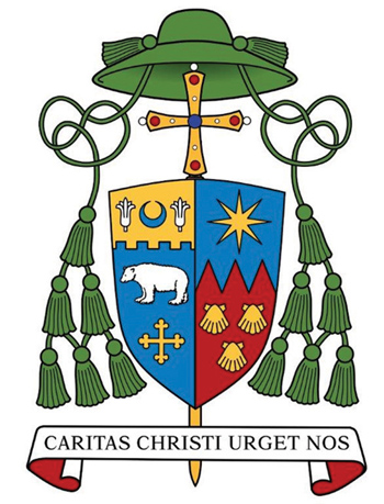 Coat of Arms of the 7th Bishop of Kansas City.