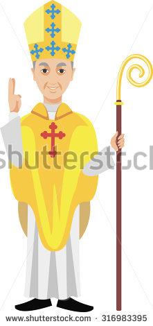 Bishop Stock Photos, Royalty.