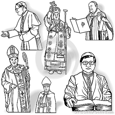 Bishop Clipart Royalty Free Stock Photos.