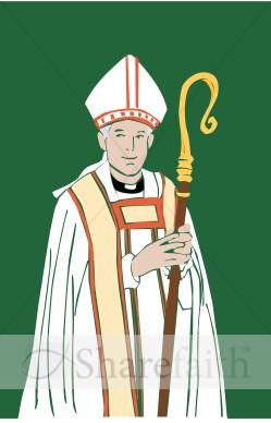 Bishop Clip Art.