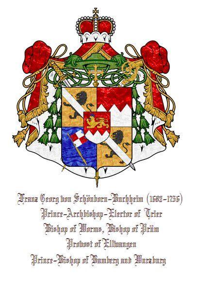 European Heraldry :: Ecclesiastical Bench of Princes.