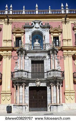 "Picture of ""Bishop's Palace, Baroque style, Plaza del Obispo."