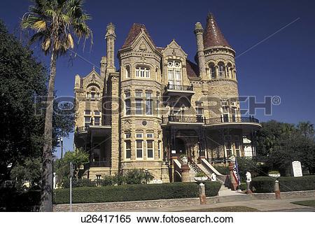 Stock Image of Galveston, TX, Texas, Gulf of Mexico, Bishop's.