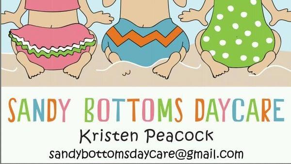 Sandy Bottoms Daycare.