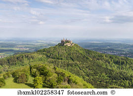 Maltese castle heitersheim baden wuerttemberg germany europe.