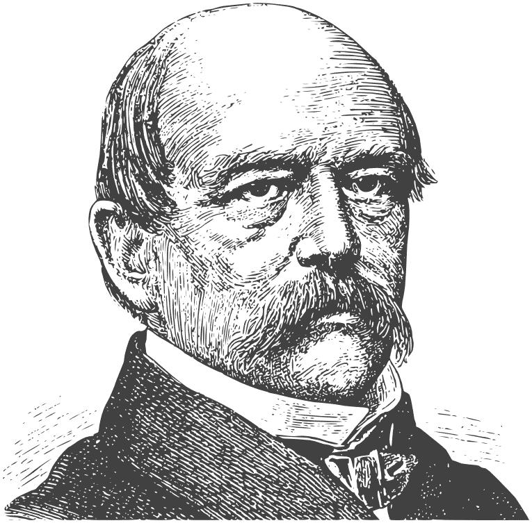 Otto von Bismarck lineart.