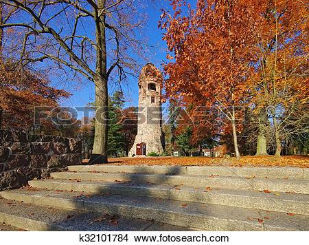 Stock Photo of Spremberg Bismarck tower k32101784.