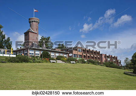 """Stock Photography of """"Bismarck Tower on Vogelsberg hill with the."""