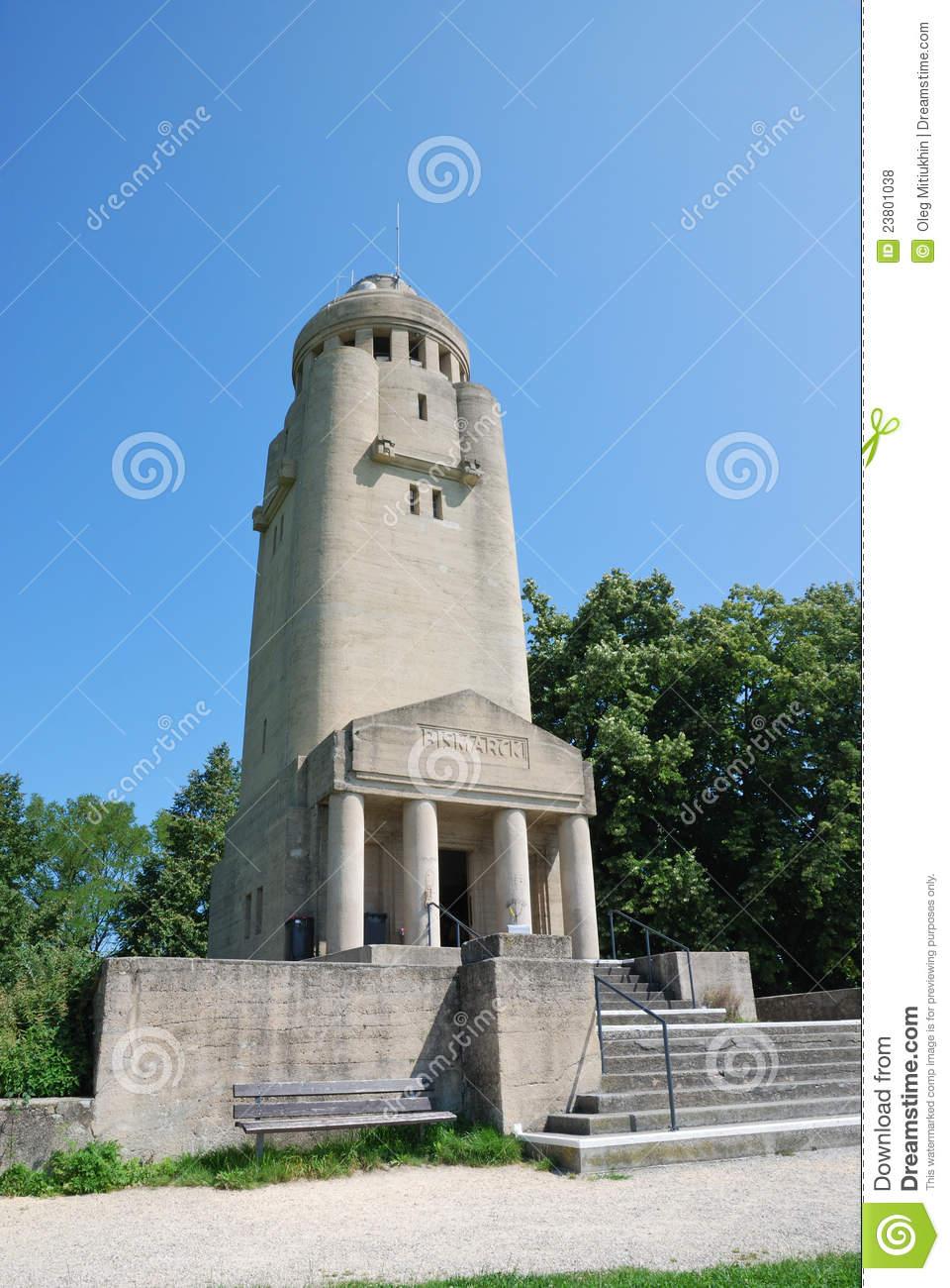 Bismarck Tower In Konstanz. Royalty Free Stock Photos.