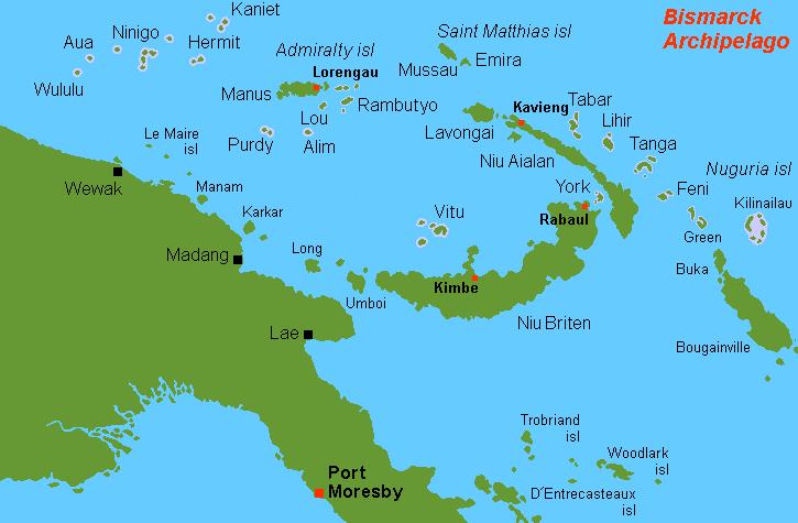 Bismarck Archipelago.