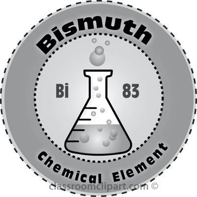 Free Chemical Elements Clipart.