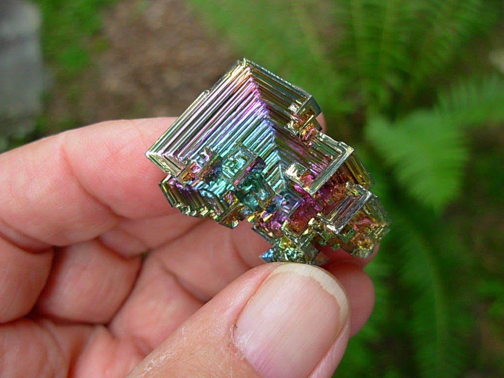 Bismuth Crystals from SpiritRock Shop.
