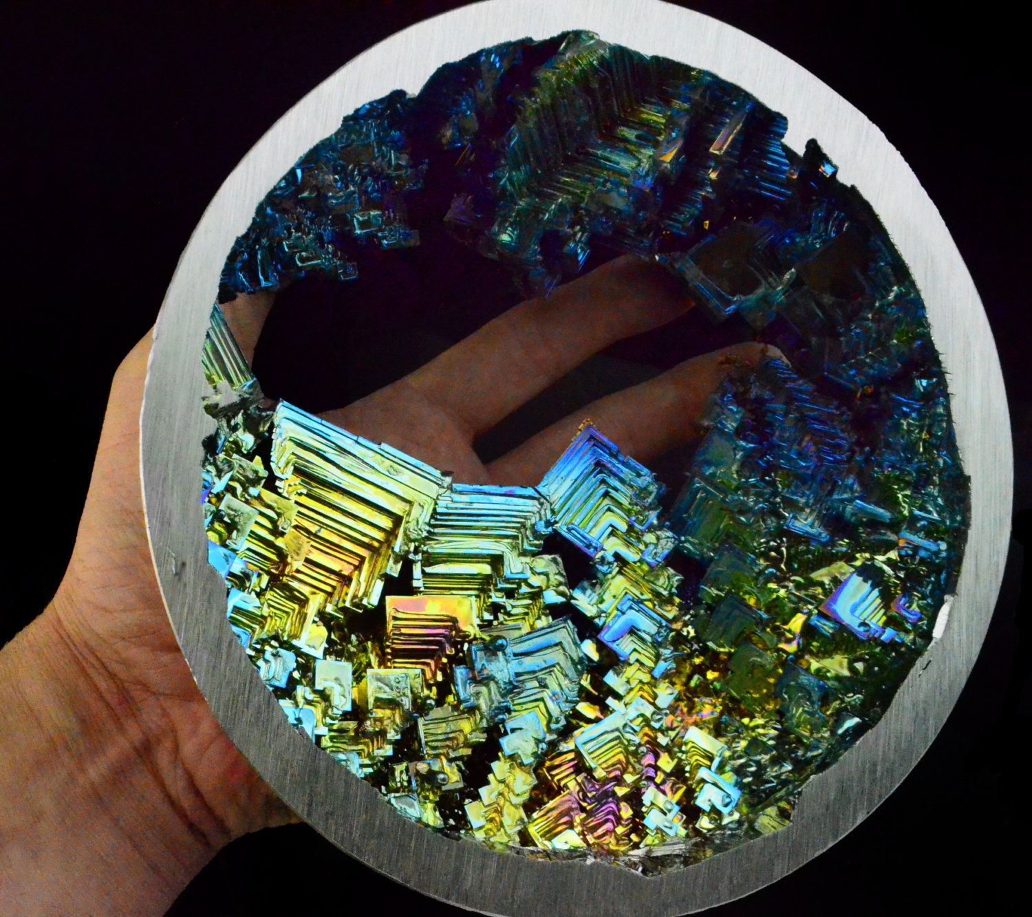 how to make bismuth crystal egg
