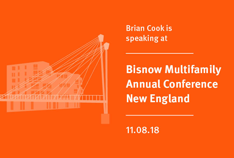 Brian Cook Speaking at Bisnow Multifamily Annual Conference.