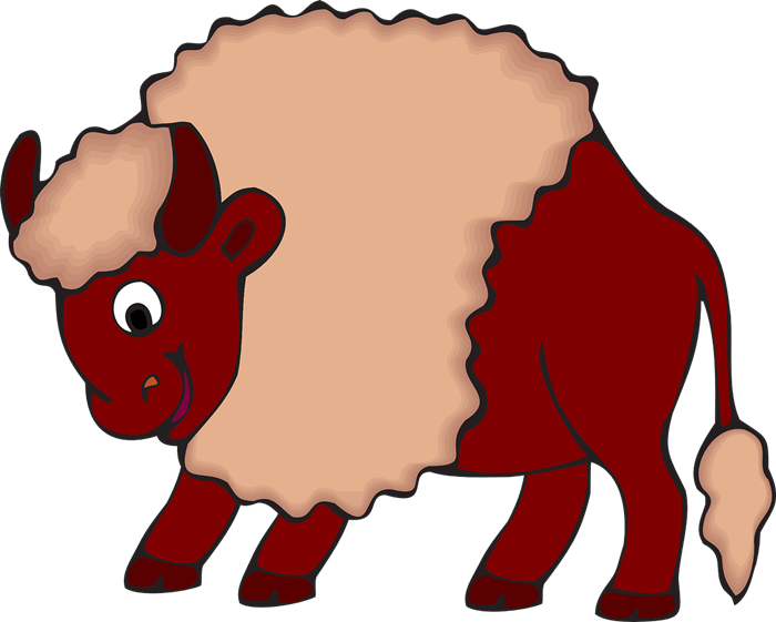 Free to Use & Public Domain Bison Clip Art.
