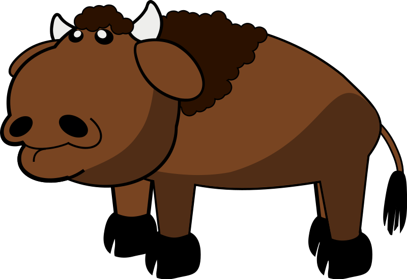 bison clipart #74.