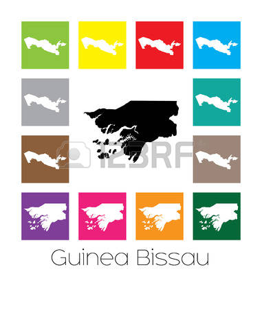 Bissau Map Stock Vector Illustration And Royalty Free Bissau Map.