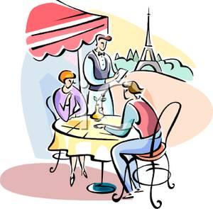 Bistro Restaurant Clipart.