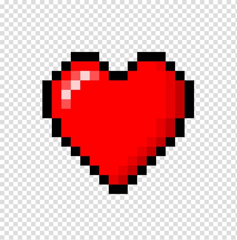 Red heart illustration, 8.