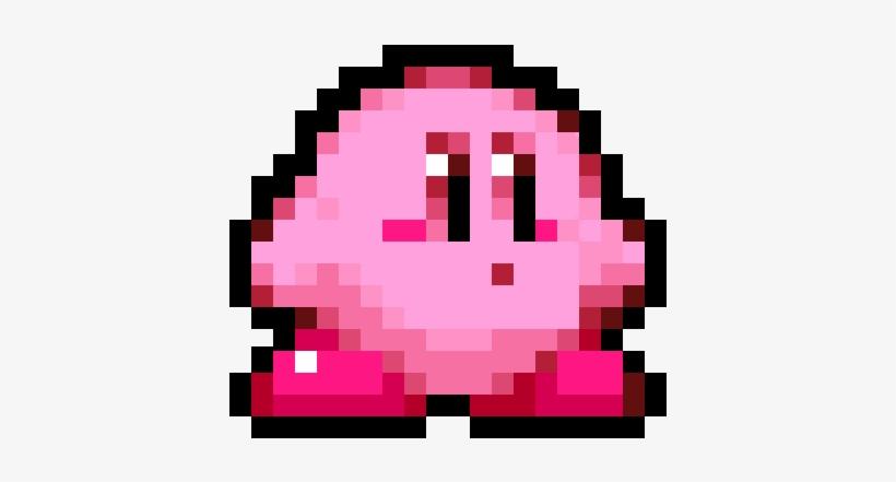 8 Bit Kirby Sprite By Toshirofrog.
