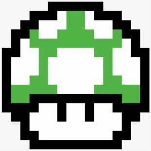 Mario 1 Up 8 Bit #2463991.