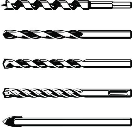 Drill bit clipart images.
