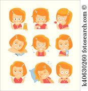 Bitchy Clipart EPS Images. 10 bitchy clip art vector illustrations.