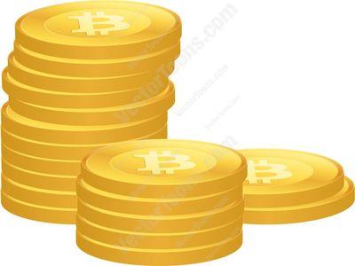 bitcoin Cartoon Clipart.