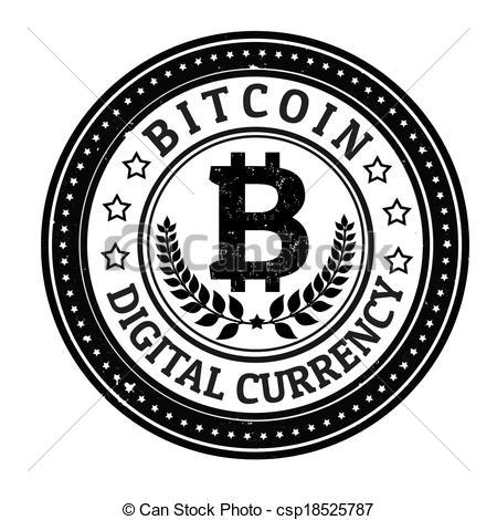 Bitcoin logo clipart.
