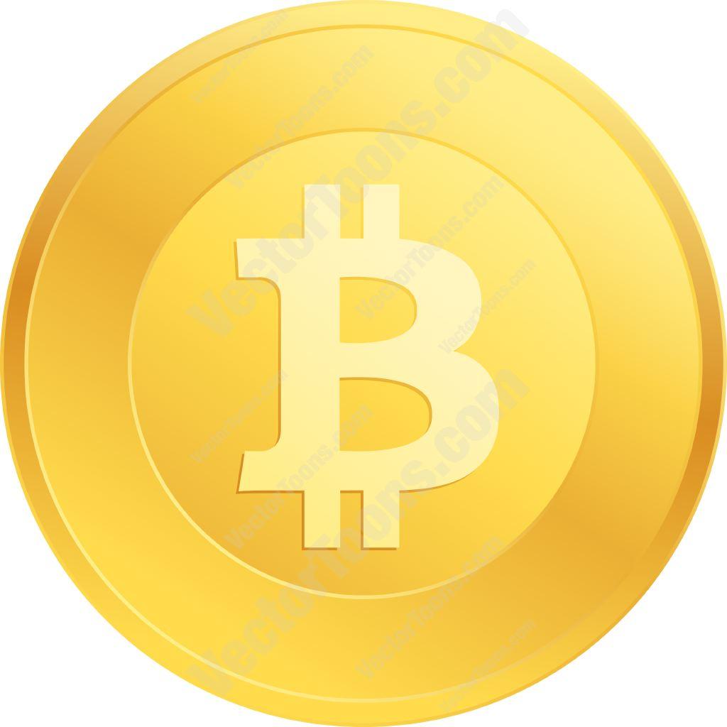 Bitcoin clipart.