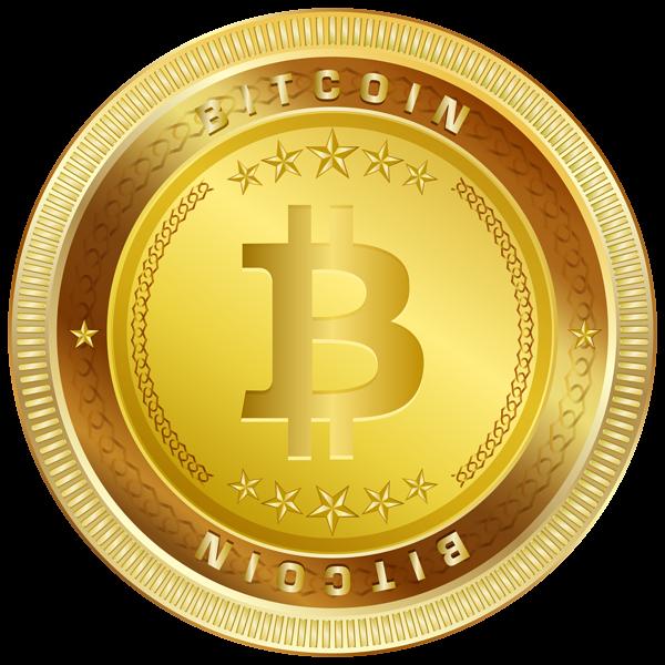 Bitcoin PNG Clip Art Image.