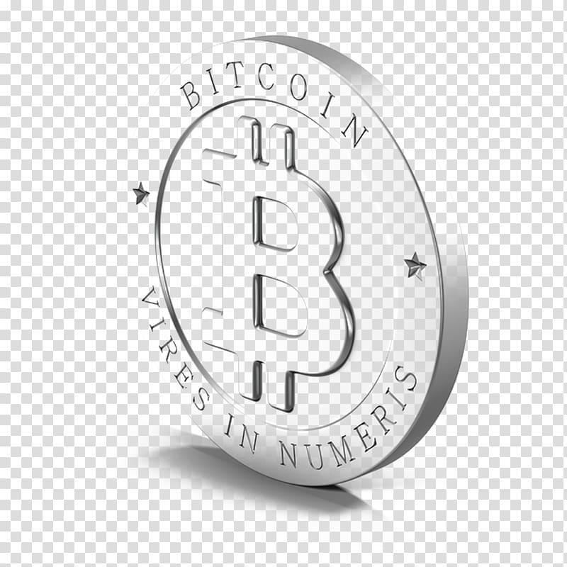 Bitcoin Vires in Numeris logo, Bitcoin Computer network Icon.