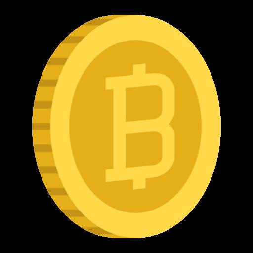 Free Bitcoin Icon.