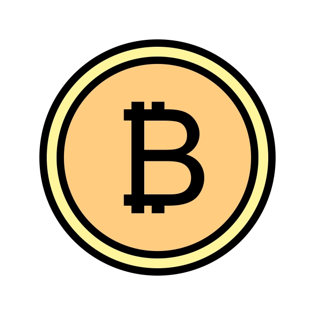 Bitcoin Icon, Bitcoin, Business, Currency PNG and Vector with.