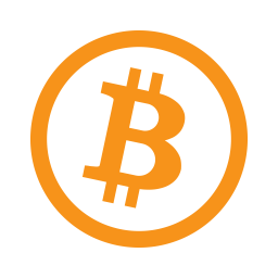 Bitcoin Icon of Flat style.
