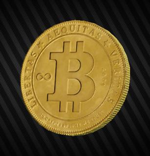 Physical bitcoin.