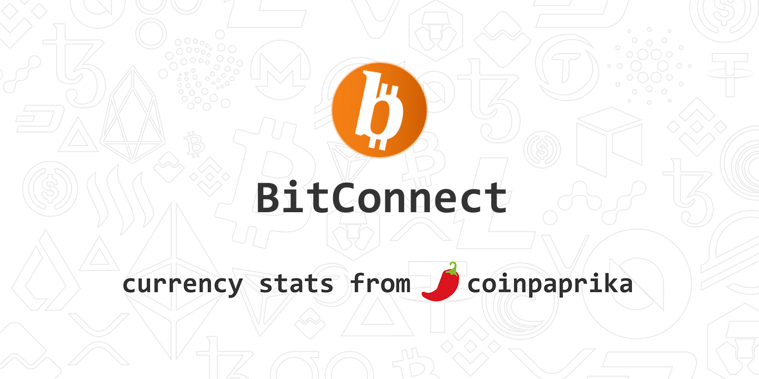 BitConnect (BCC) Price, Charts, Market Cap, Markets, Exchanges, BCC to USD  Calculator.