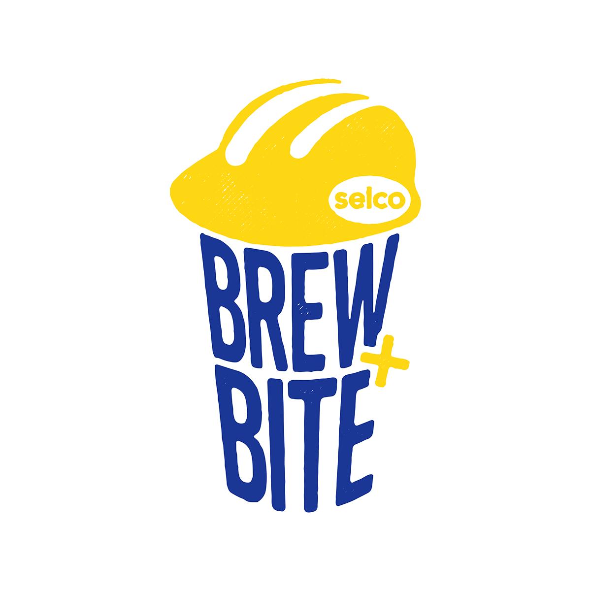 Brew + Bite Logomark on Behance.