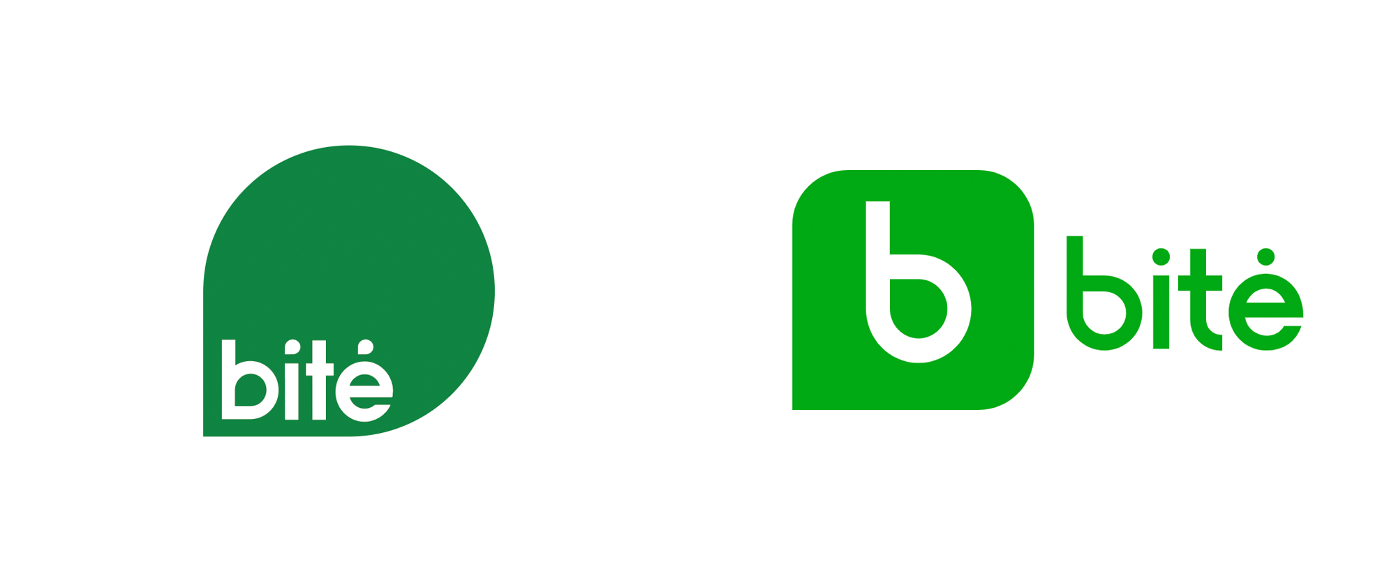 Brand New: New Logo for Bitė by Interbrand.