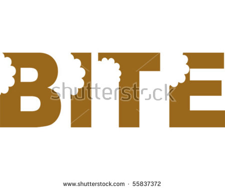 Teeth Bite Stock Images, Royalty.