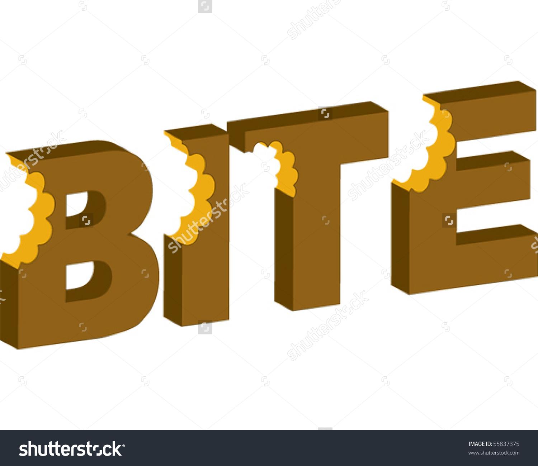 Bite Clip Art.