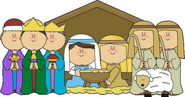 free nativity clipart christmas #9