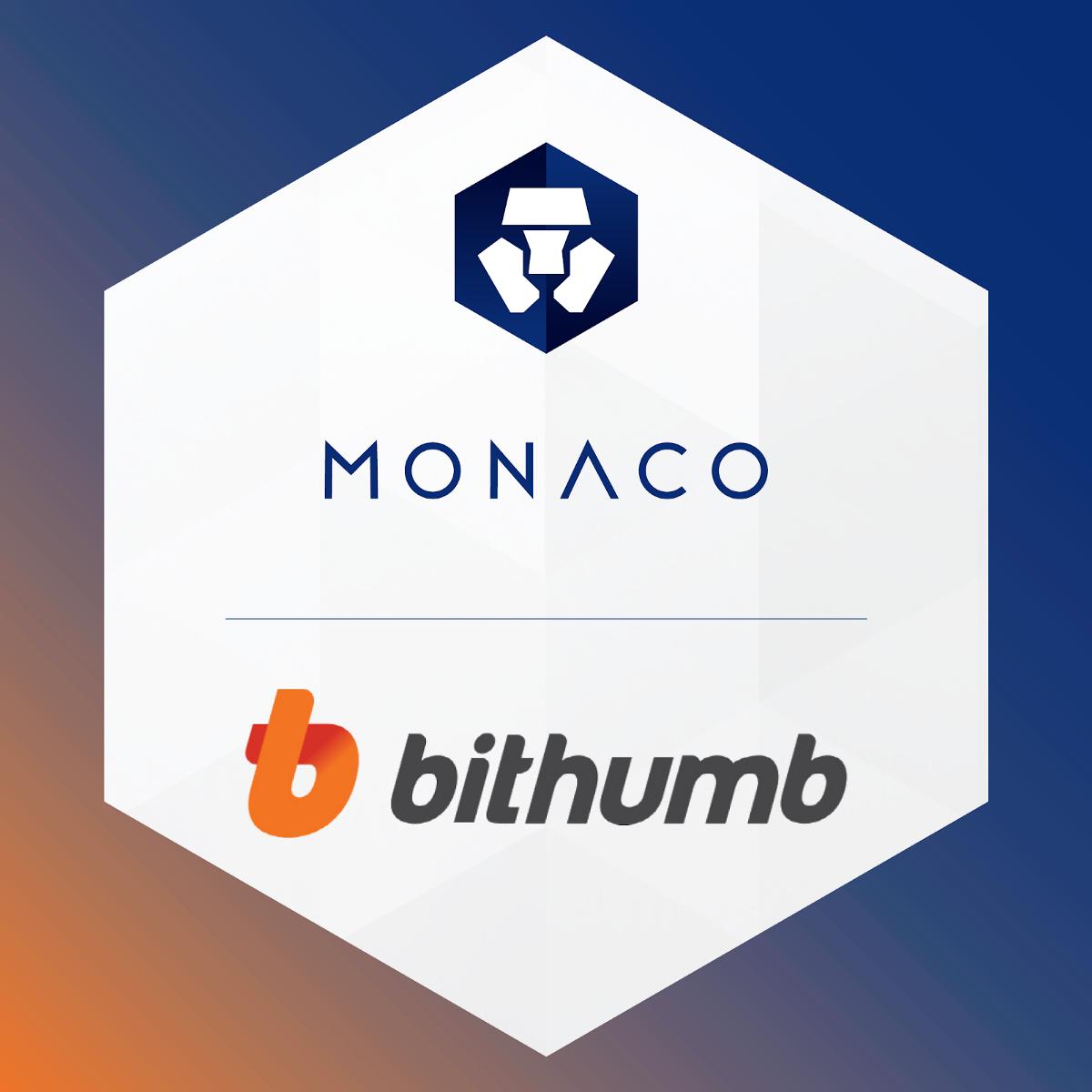 Monaco MCO Token to List on Bithumb.