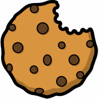 Bitten cookie clipart free clipart images.