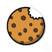 Bitten Cookie Clipart.